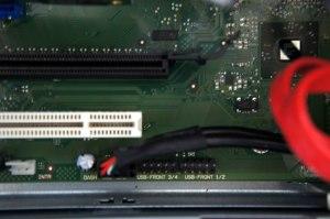 MX130 S2 USBピンヘッダー 差し替えた状態