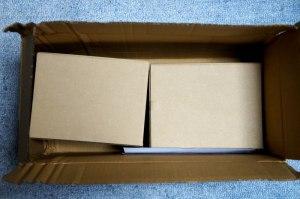 Buffshop 外箱 梱包材を取ったところ