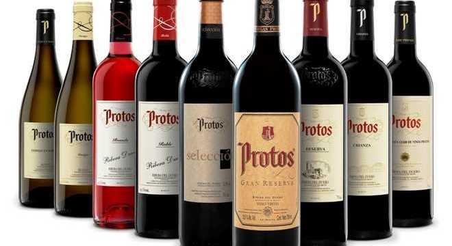 Vinos de la Bodegas Protos