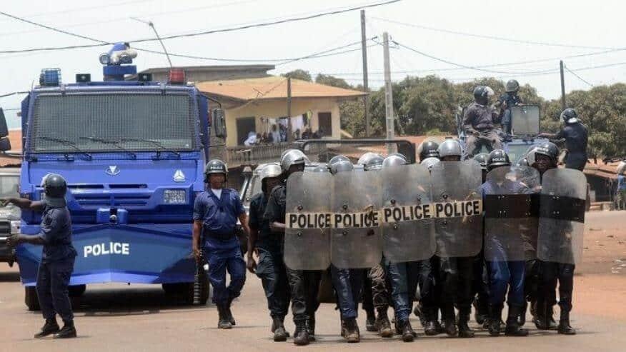 Insécurité : Quand un officier de la police se fait dépouiller par des présumés bandits à Conakry !