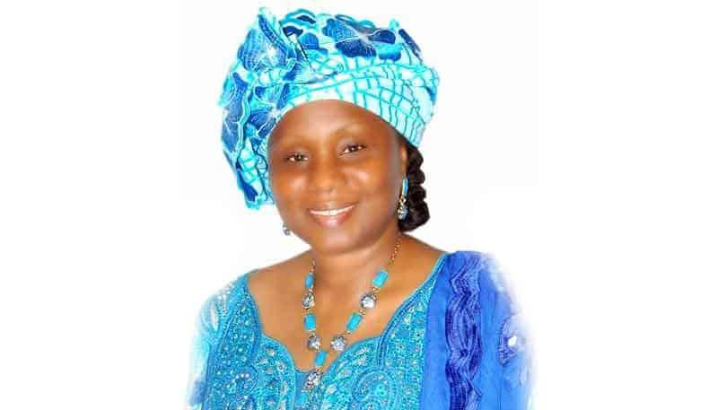 Madame Kaba Rougui Barry, ministre conseillère à la Présidence de la République