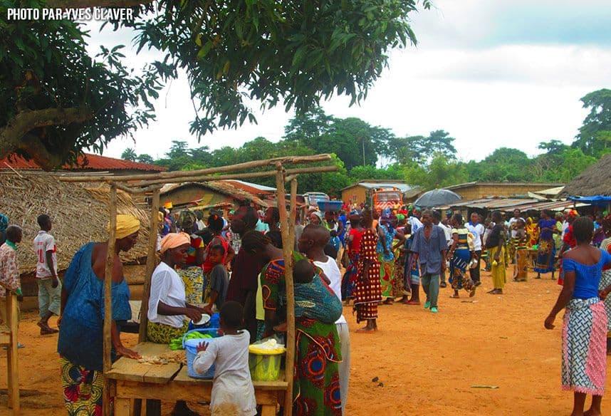 jour du marché de Koropara