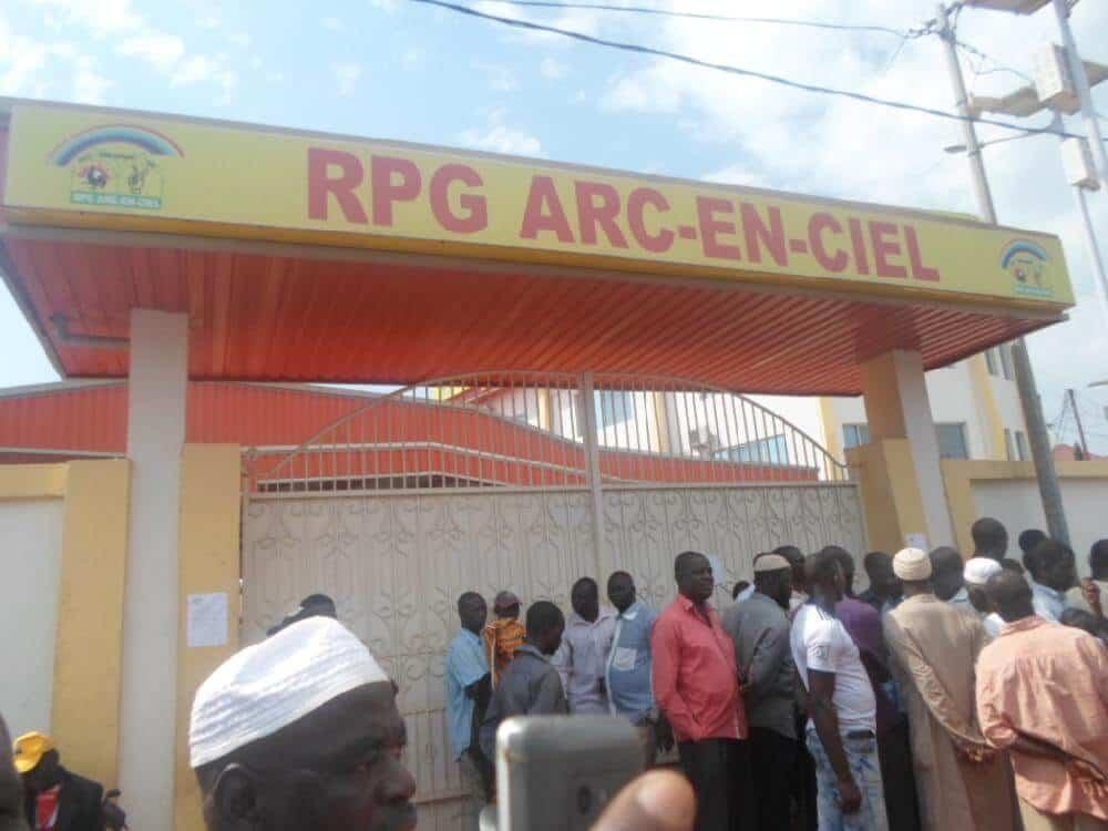 Le siège du RPG, parti au pouvoir, à Conakry