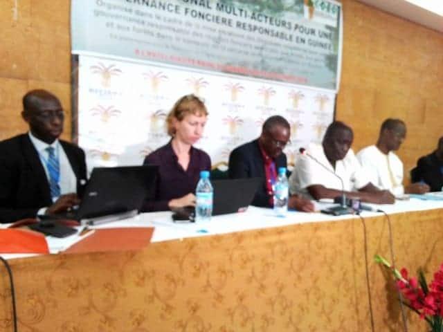 Guinée plateforme multi-acteurs