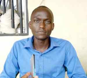 M. Soryba Tounkara, directeur de l'école primaire Ramatoulaye Keita