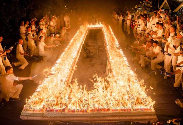 Video Record Blasted As 72585 Candles Burn On One Birthday Cake