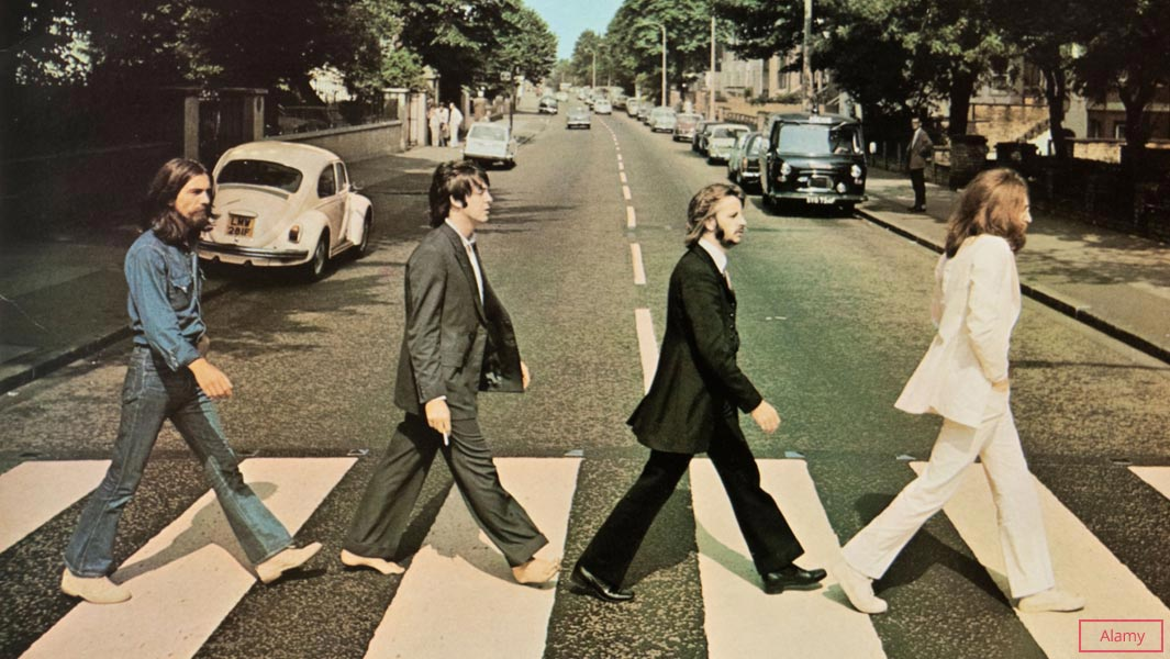 The Beatles set another record as Abbey Road returns to the top of the UK  charts | Guinness World Records