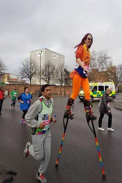 marathon-stilts