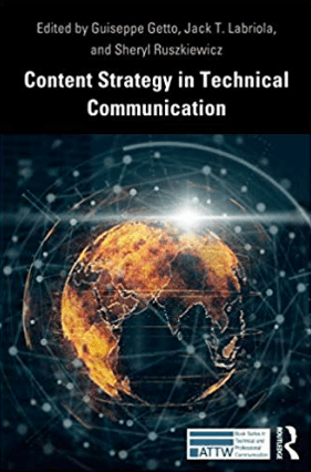 "The cover of ""Content Strategy in Technical Communication"""