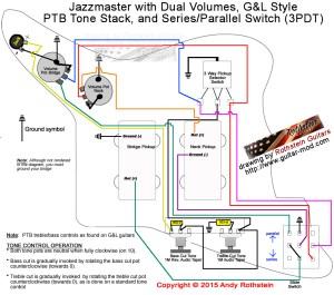 Rothstein Guitars • Jazzmaster Wiring SeriesParallel