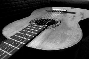 prima lezione di chitarra classica