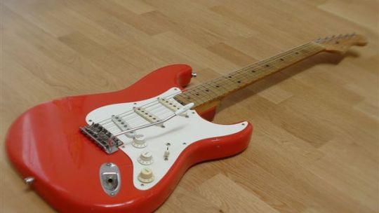 Curiosità: Fender Stratocaster Custom Color anni cinquanta