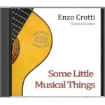 "Recensione CD di chitarra classica <br>""Some Little Musical Things"""