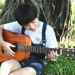 5 canzoni facili e belle <br>da arpeggiare alla chitarra