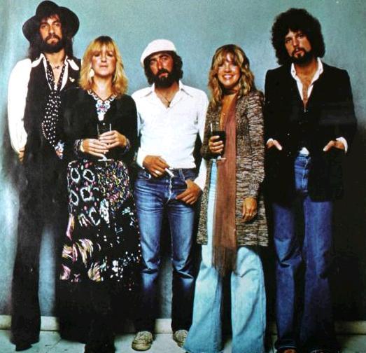 I Fleetwood Mac nel 1977.