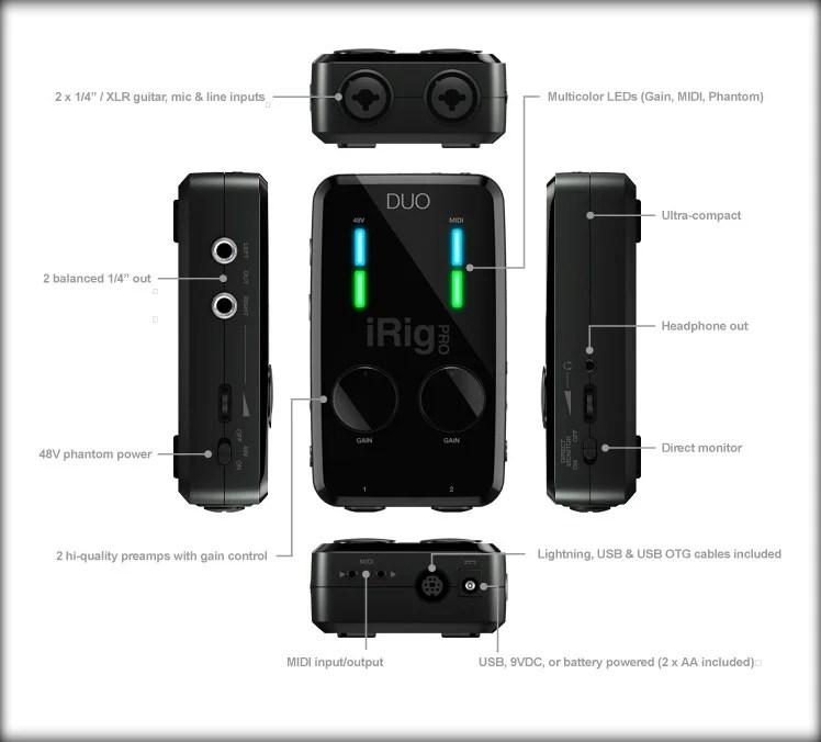 Irig Pro Duo Review And Setup Walkthrough