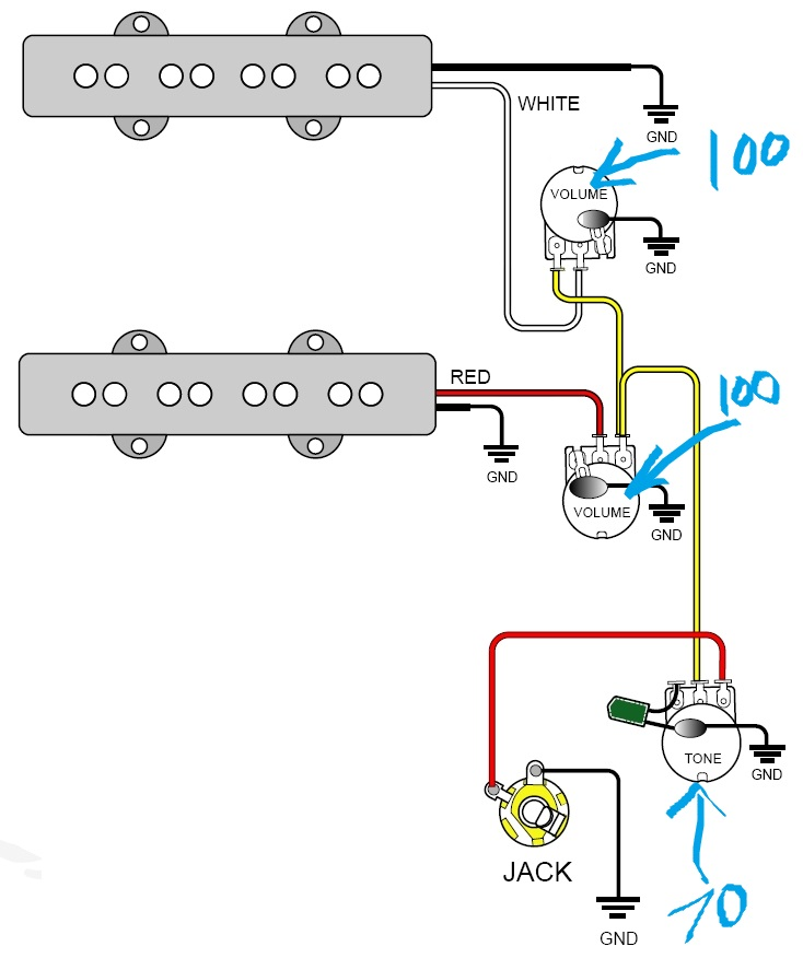 wiringbass Wire diagrams easy simple detail ideas general example best routing pickup wiring diagrams 1 yamaha bass guitar wiring schematics efcaviation com washburn wiring diagrams at gsmx.co