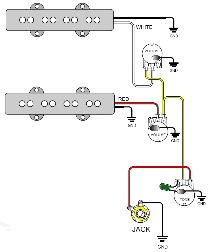 Texas Special Pickup Wiring Diagram - Merzie.net