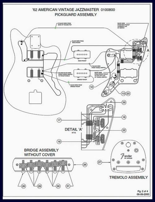 Fender Jaguar Hh Wiring Diagram Jaguar Guitar Wiring Diagram Jaguar