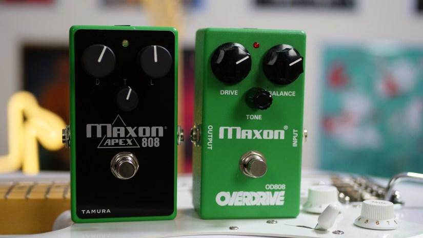Maxon APEX 808 and Maxon OD808