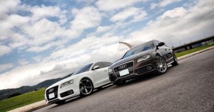 –咖啡牛奶– Audi A4 Avant & A5 Sportback 同場拍攝開箱