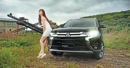 –帥領佳人– 三菱 Mitsubishi New Outlander 開箱拍攝