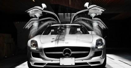 –夢想起飛– Mercedes Benz SLS AMG 完整版開箱三部曲拍攝