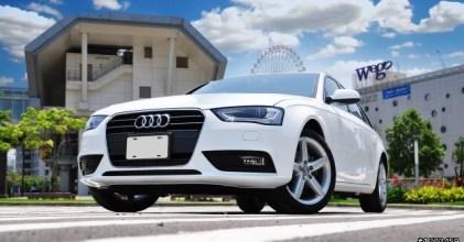 –世代交替– Audi A4 Avant B8.5 開箱拍攝
