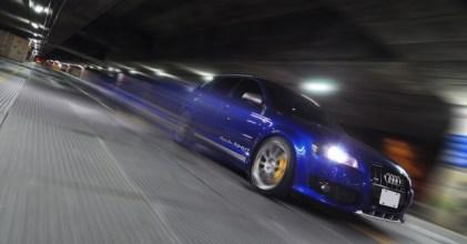 –妳犯規了– 雪邦藍 Audi A3 個性夜拍開箱