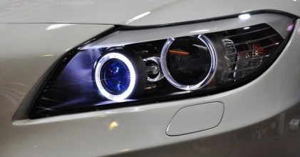 –白光天使– BMW E89 Z4 白光LED天使眼 安裝拍攝