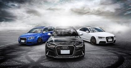 –阿嘶三帥– Audi RS 4, 5, 6 奇蹟連線開箱拍攝