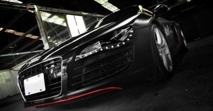 –鋼鐵英雄– Audi R8 消光黑 開箱拍攝