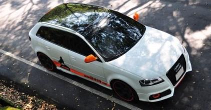 –過目難忘– Audi A3 白橘小狼號 開箱分享