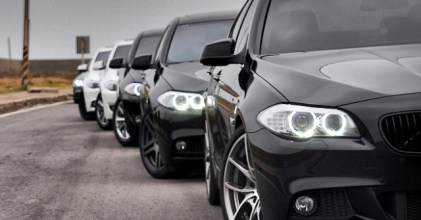 –五系勢力– BMW F10 5 Series 台中聚會側拍