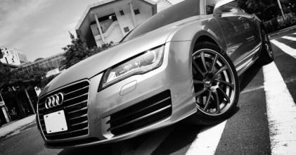 –轎跑新血– Audi A7 開箱拍攝