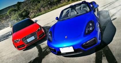 –生日快樂– Porsche 保時捷 Boxster GTS & Audi S3 Sedan 同場開箱拍攝