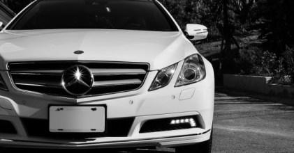 Mercedes Benz 賓士 C207 E350 Coupe 黑白同台