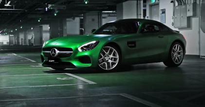 –綠色惡魔– 賓士 AMG GT 消光金屬綠著裝上身 拍攝小記 By 吉他腳GuitarFeet