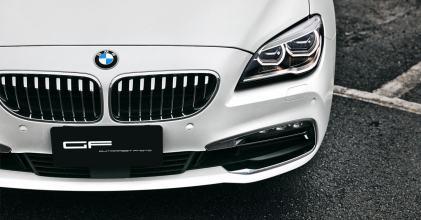 BMW 6GC 消光白 貼膜小記 拍攝 By 吉他腳GuitarFeet