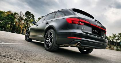 Audi B9 A4 Avant 絲綢黑 貼膜小記拍攝 By 吉他腳GuitarFeet