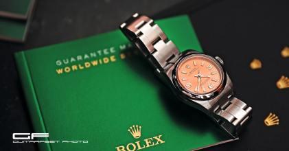 一勞不逸 – Rolex 勞力士 176200 Oyster Perpetual 26mm Pink 開箱小記