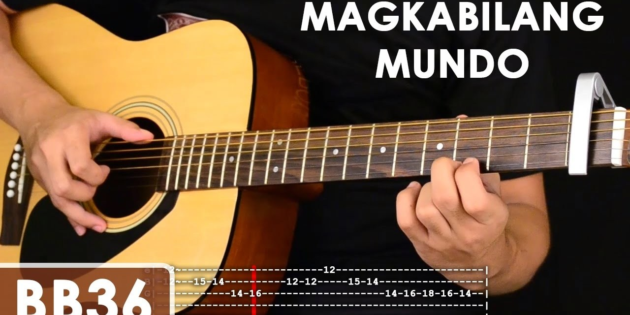Magkabilang Mundo Jireh Lim Guitar Tutorial Includes Chords