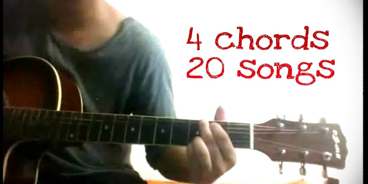 Play 20 Hindibollywood Songs On Guitar Using Just 4 Chords Guitar