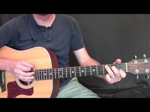 Learning to Fly Guitar Lesson – Easy Beginner Strumming Song – Tom ...
