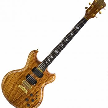 Alembic 2014 Skylark Zebrawood Electric Guitar Used