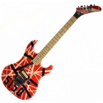 Vintage 1980s Pre-Copyright Kramer Baretta w/ Custom EVH 5150 Van Halen Paint Job