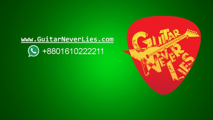 Temporary online Guitar classes and admission going on
