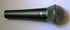 Microfono dinámico