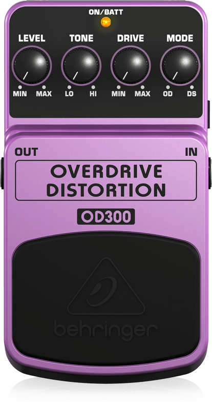 OVERDRIVE/DISTORTION OD300