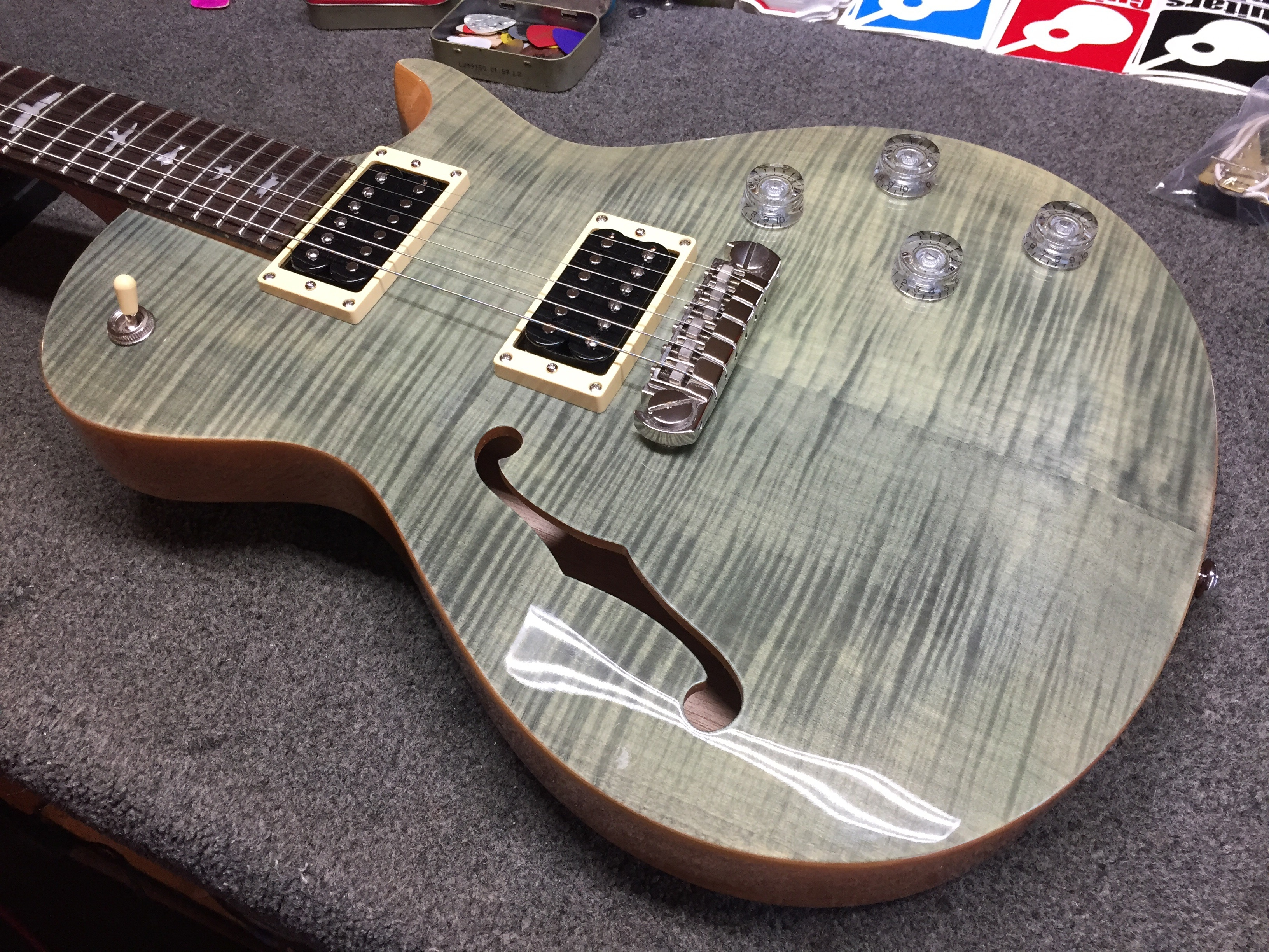 Prs Se Zach Myers In For New Pickups Guitars United